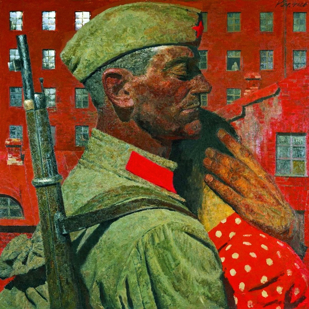 00 Gely Korzhev-Chuvelyov. Farewell, from 'Scorched By the Fires of War'. 1967