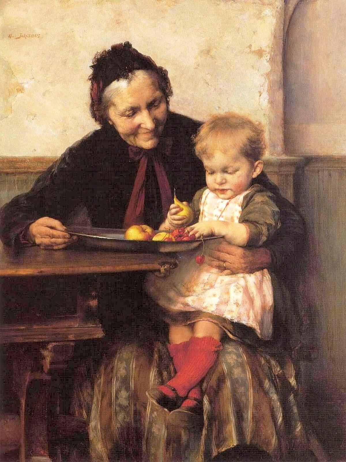 00 Georgios Iakovidis. Iaia's Favourite. 1893