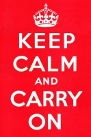 00 Unknown Artist. Keep Calm and Carry On. 1939 UK WW2