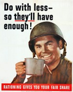 00 US Poster WW2 Do with less...
