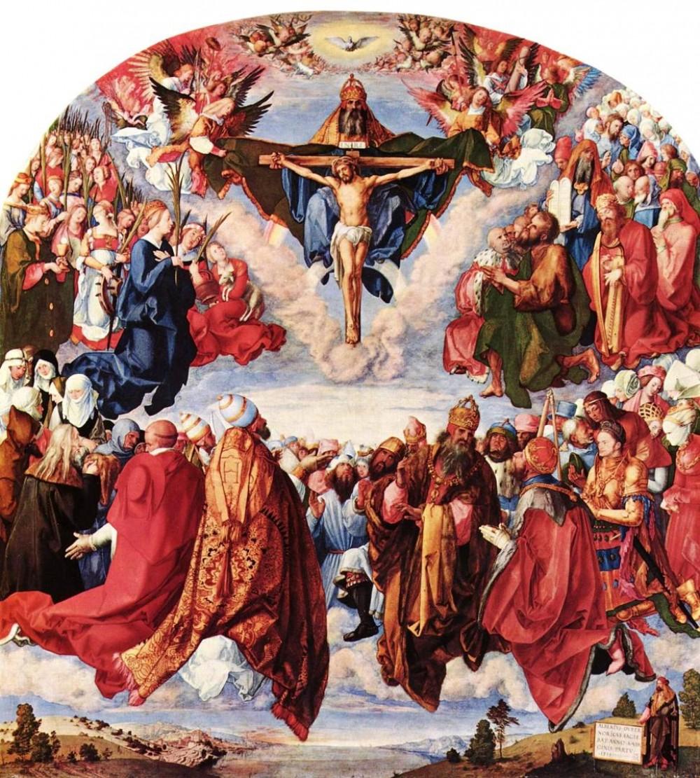 Albrecht Dürer. The Crucifixion. 1511