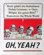 American WW2 poster