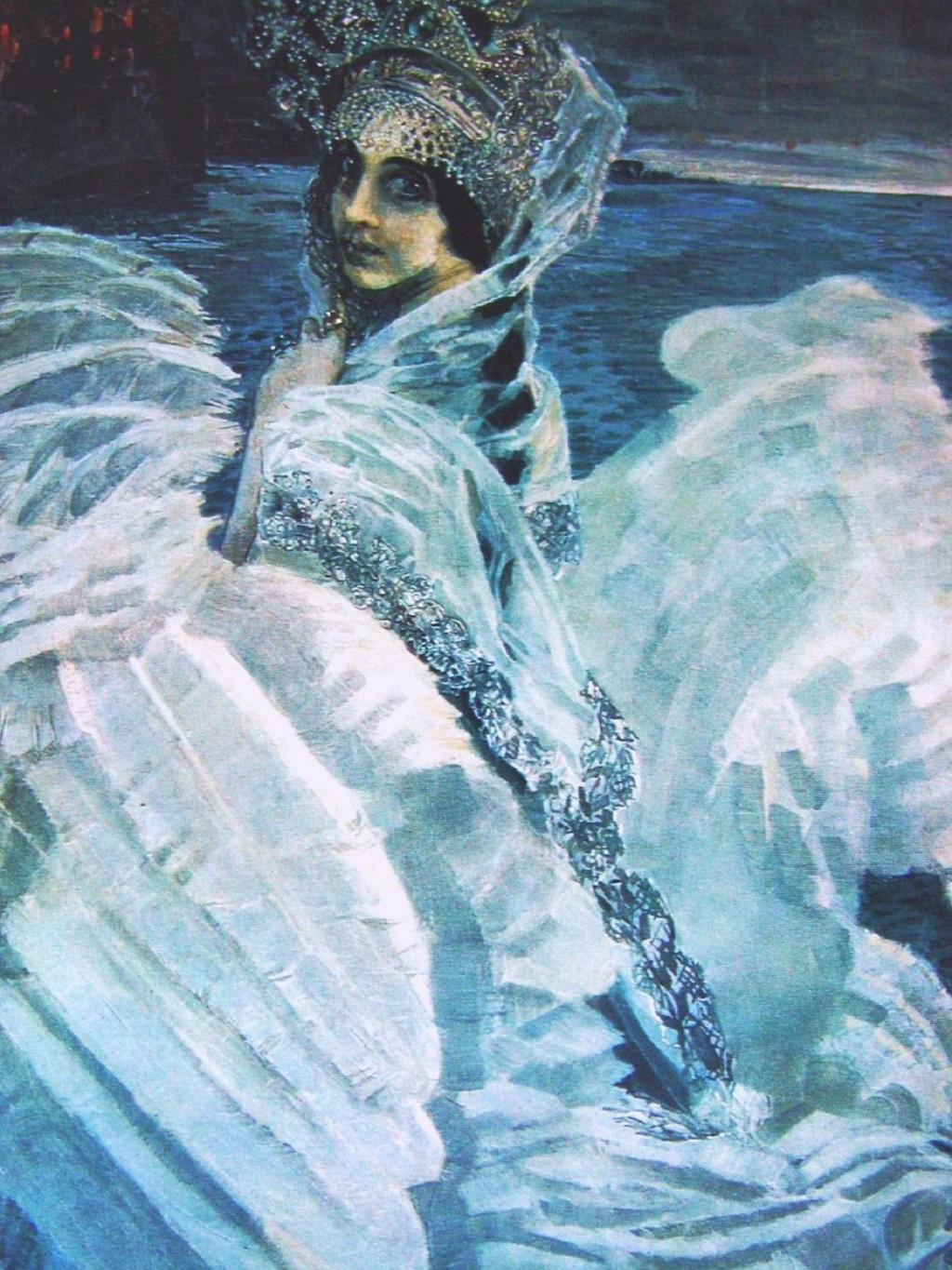 Mikhail Vrubel. The Swan Princess 1900