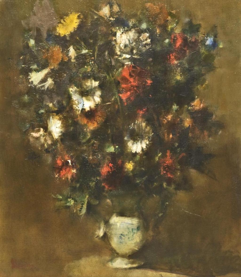 Jack Levine. Flowers. 1962