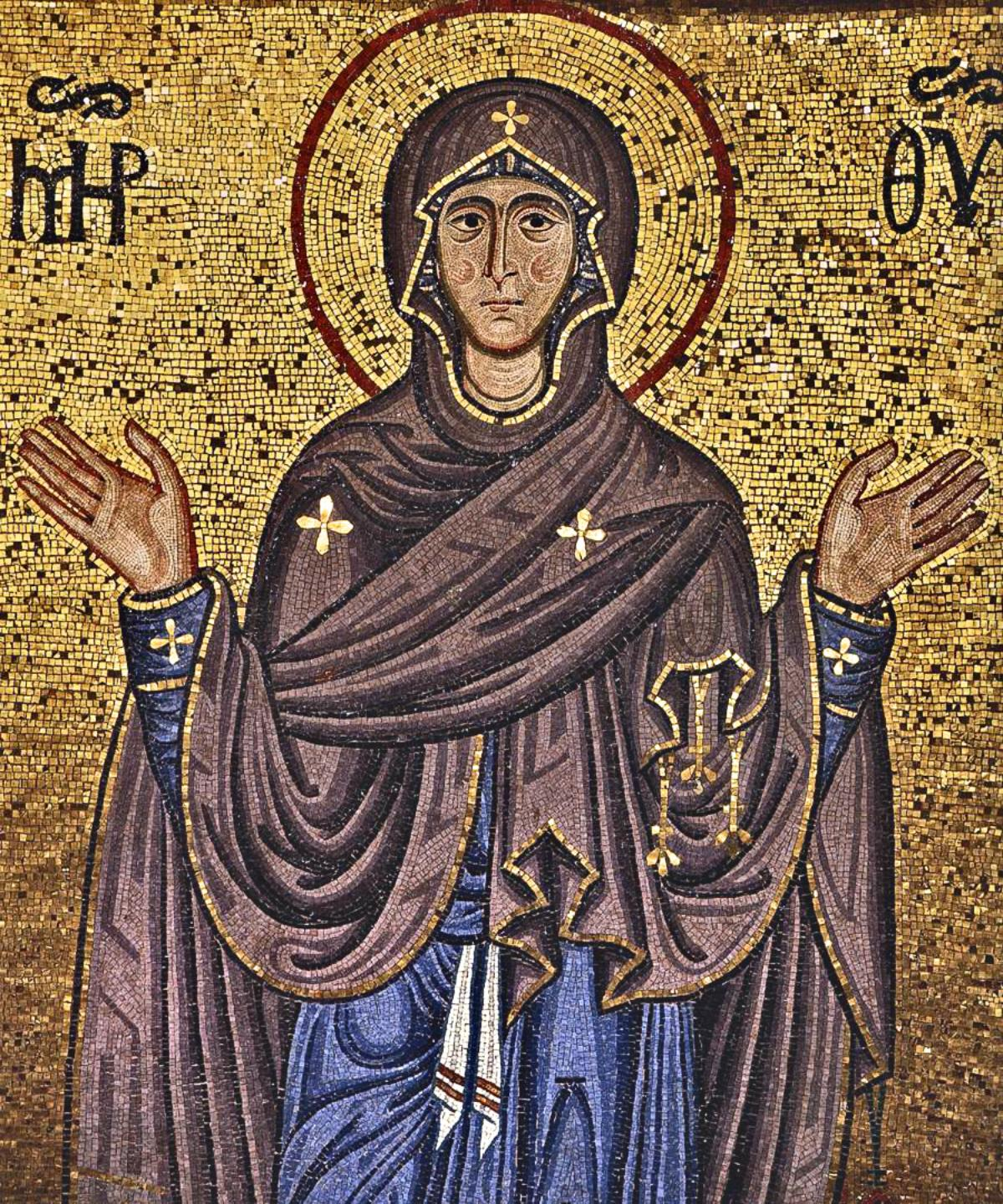 01 anonymous mother of god mid12th century duomo di
