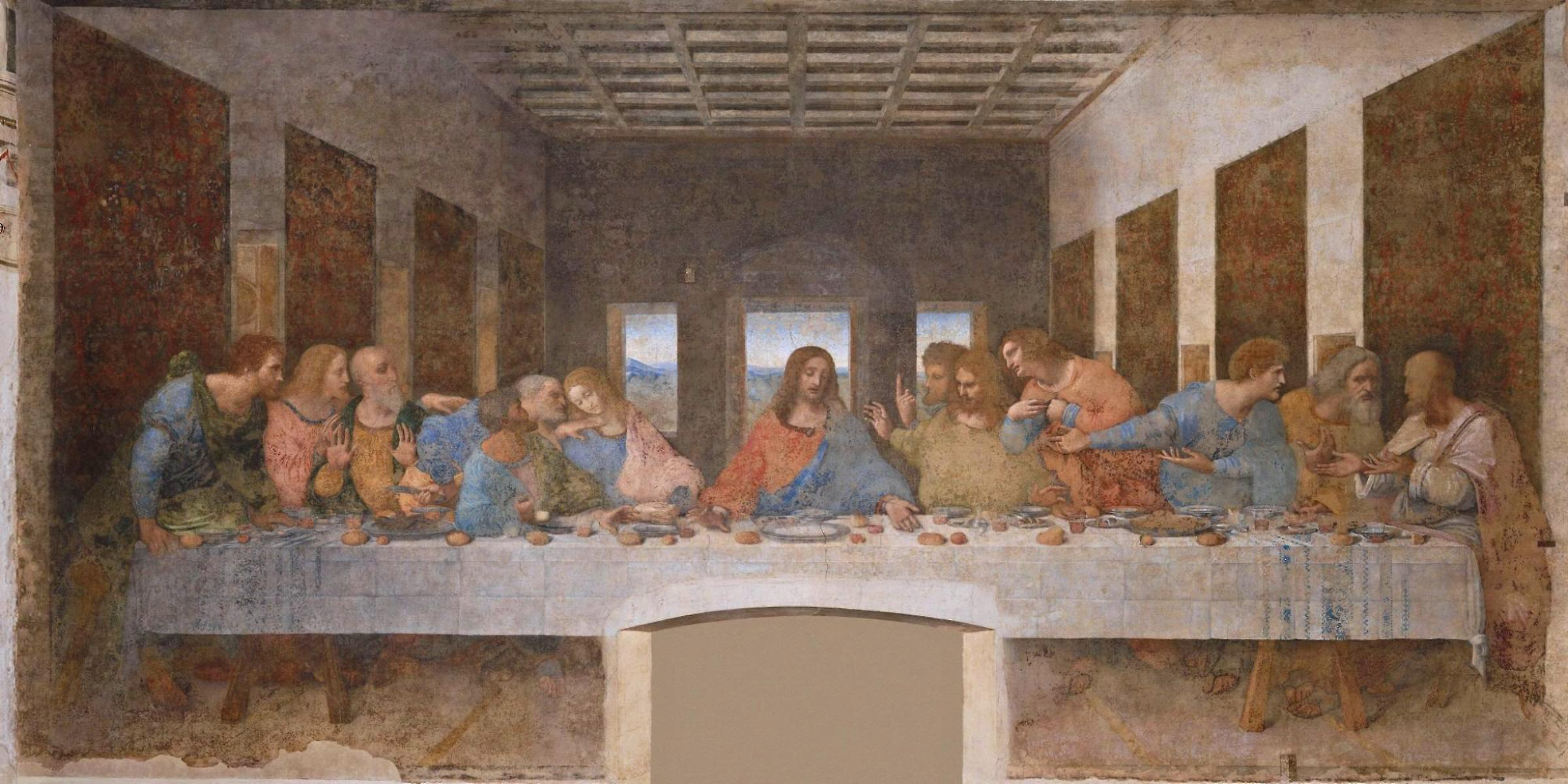 Leonardo da Vinci. The Last Supper. 1498 | Art and Faith, Too