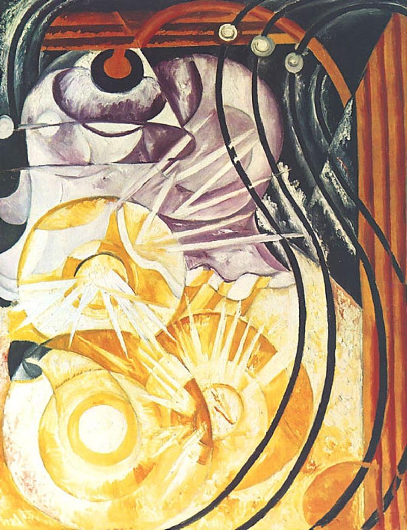 Natalia Goncharova. Electric Lamps. 1912