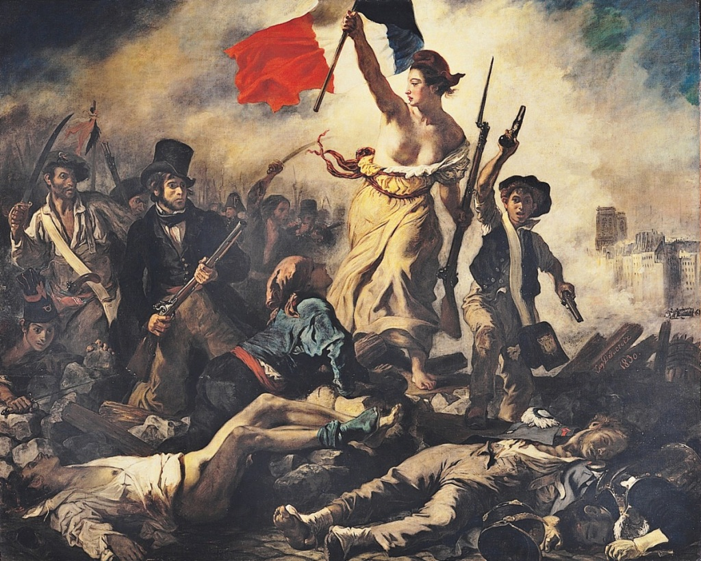 00 Eugène Delacroix. Liberty Leading the People. 1830