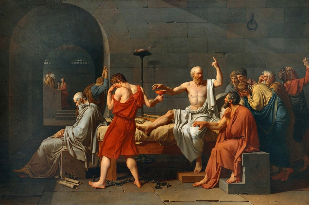 00 Jacques-Louis David. The Death of Socrates. 1787