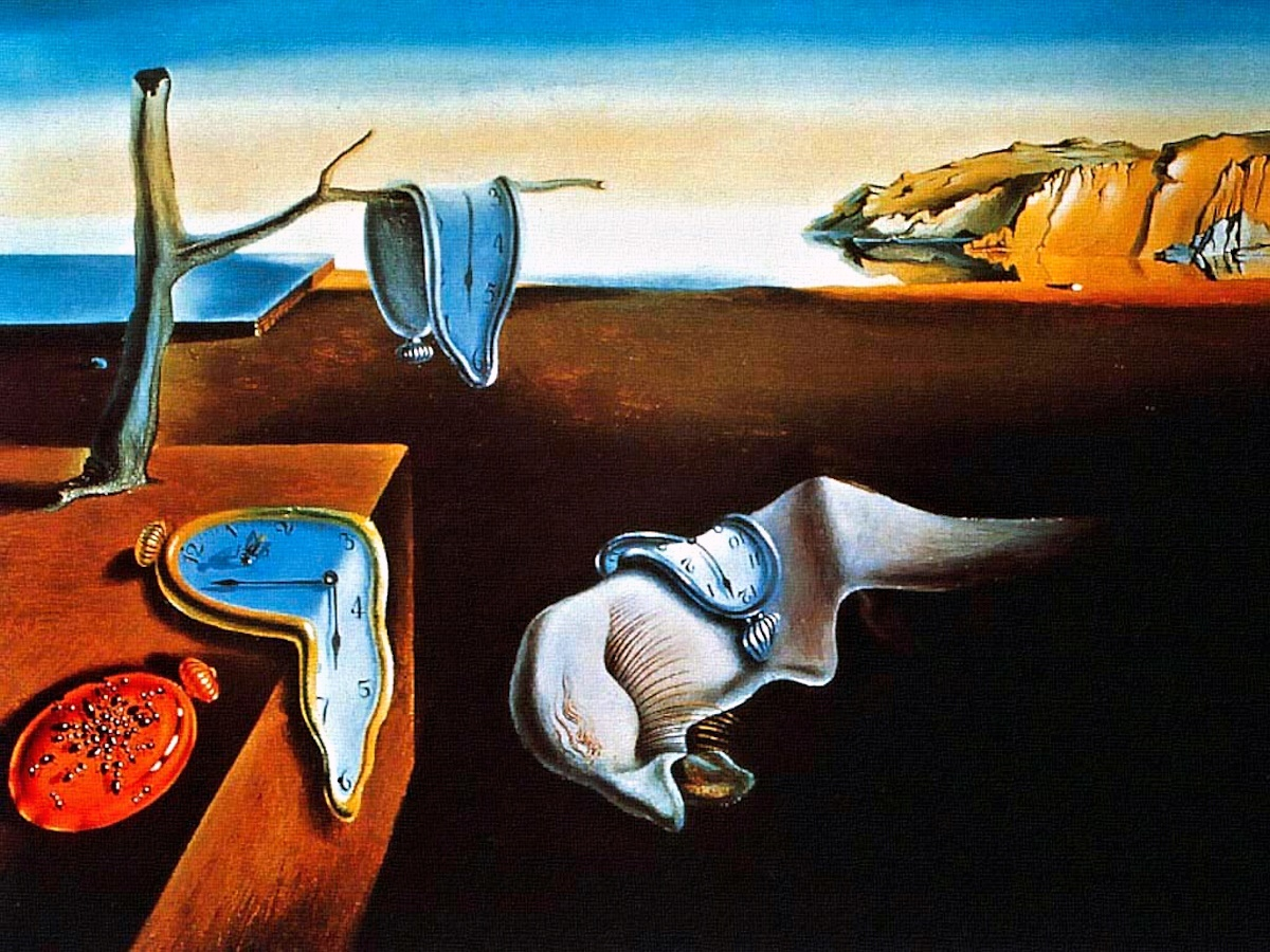 00 Salvador Dali. The Persistence of Memory. 1931