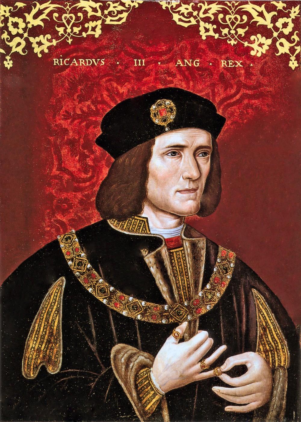15 Year Boys Bedroom: 00 Unknown Artist. A Portrait Of King Richard III. Late