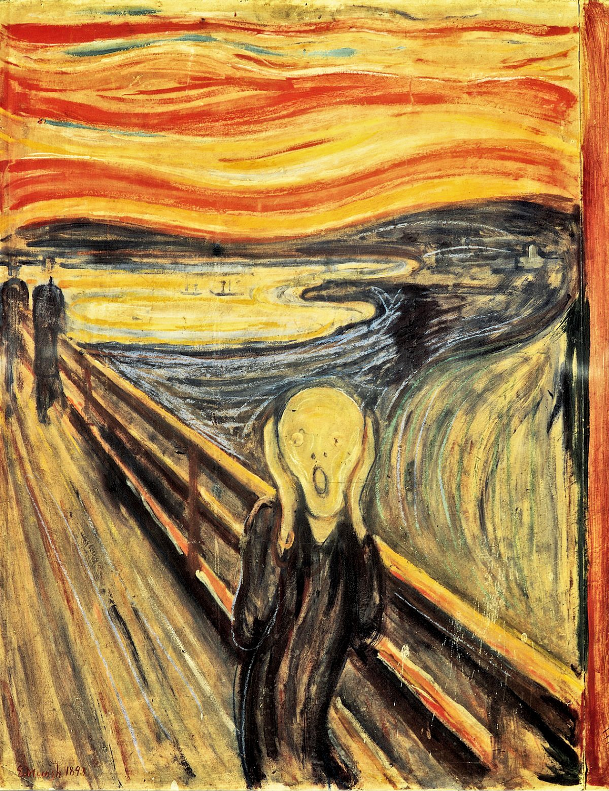 00 Edvard Munch. The Scream. 1893 | Art and Faith, Too