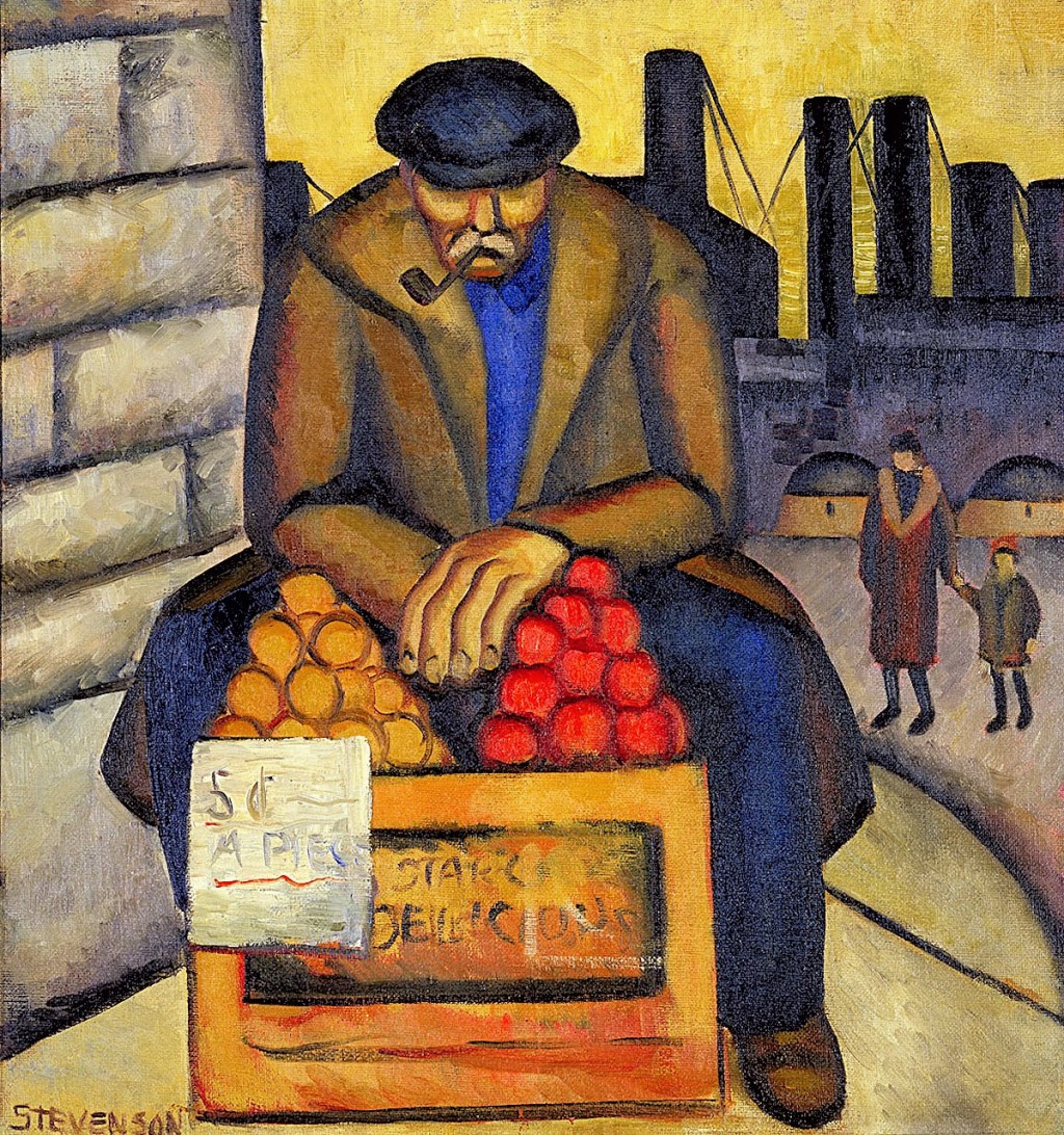 00 Barbara Stevenson. Apple Vendor. 1934