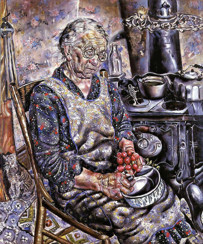 00 Ivan Albright. The Farmer's Kitchen. 1934