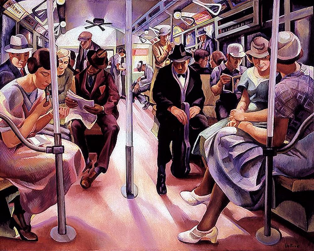 00 Lily Furedi. Subway. 1934