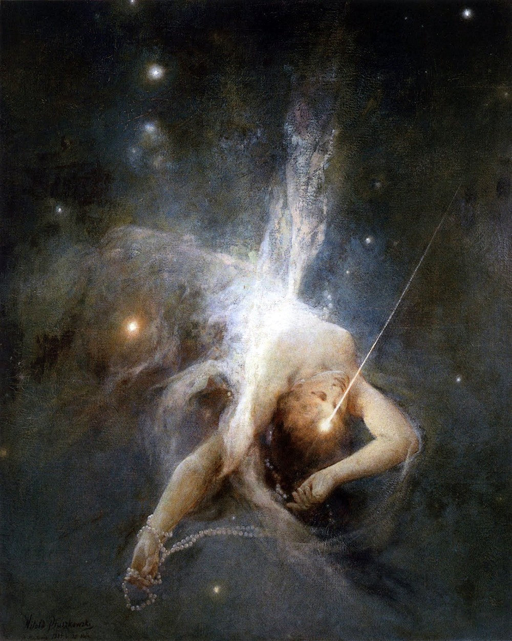 00 Witold Pruszkowski. Falling Star. 1884