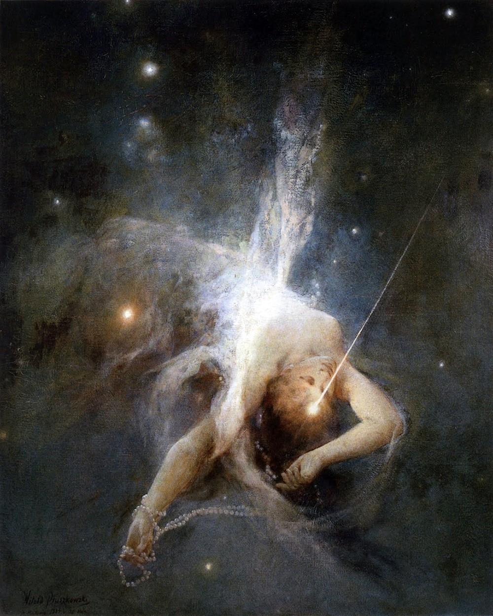 00 Witold Pruszkowski. Falling Star. 1884