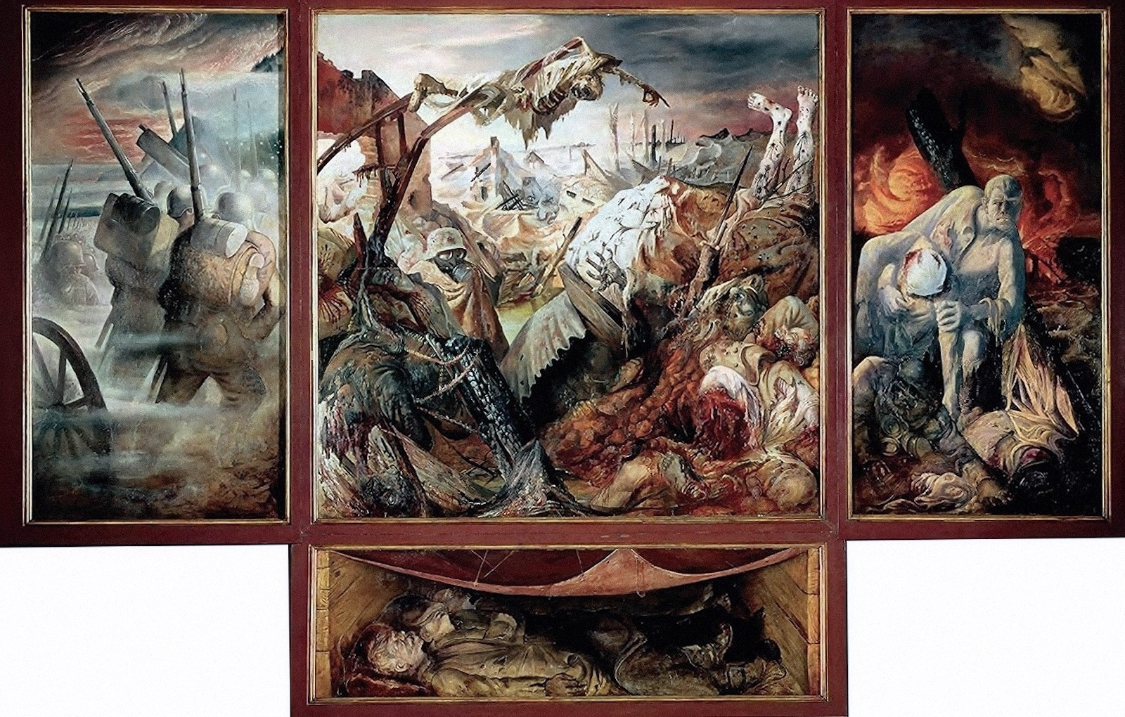 00 otto dix der krieg the war 1929 32 art and faith too - Comment les cambrioleurs reperent ...