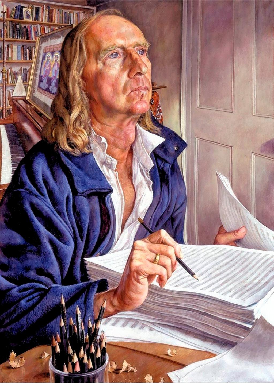00 Michael Taylor. Sir John Tavener. 2001. 12.11