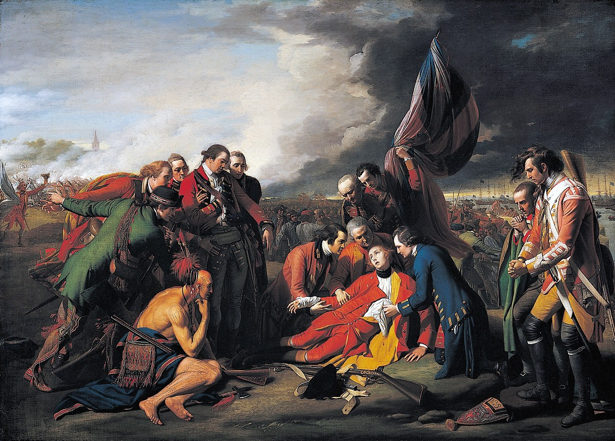00 Benjamin West. The Death of General Wolfe. 1771