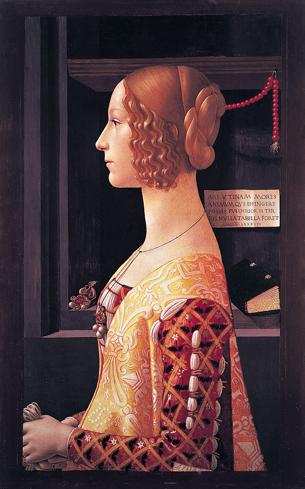 00 Domenico Ghirlandaio. Giovanna Tornabuoni. 1488