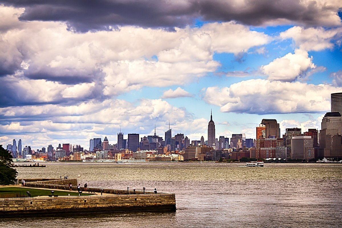 00 Michael Matti. Manhattan from Liberty Island. 2011