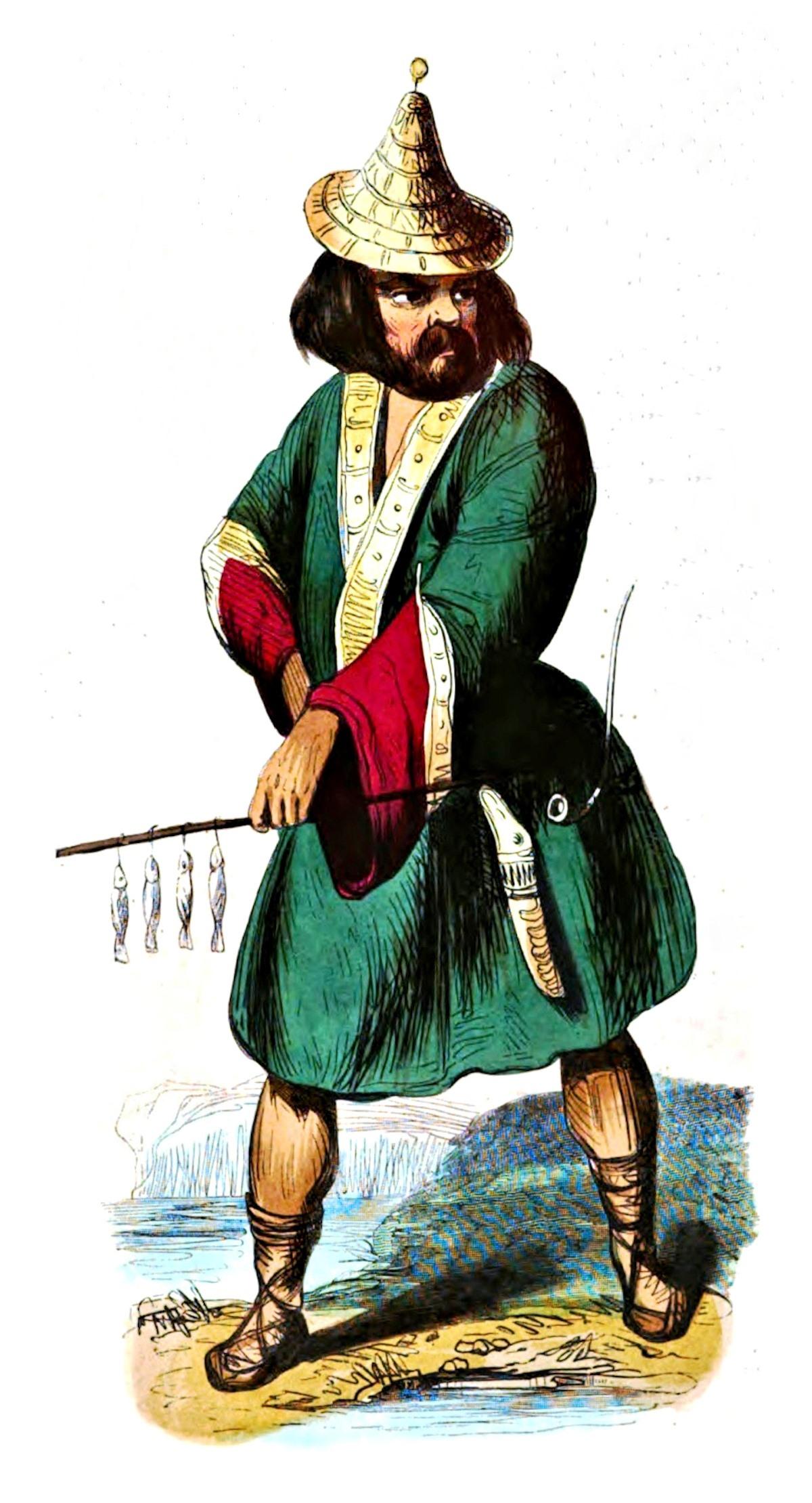 00 S Markaert. Ainu. 1843.