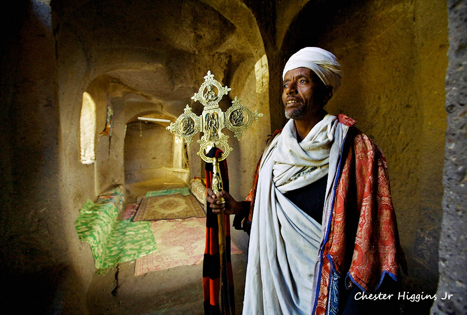 00 Chester Higgins. Lalibela. Asfa Mariam Church. Ethiopia 01. 06.06.15