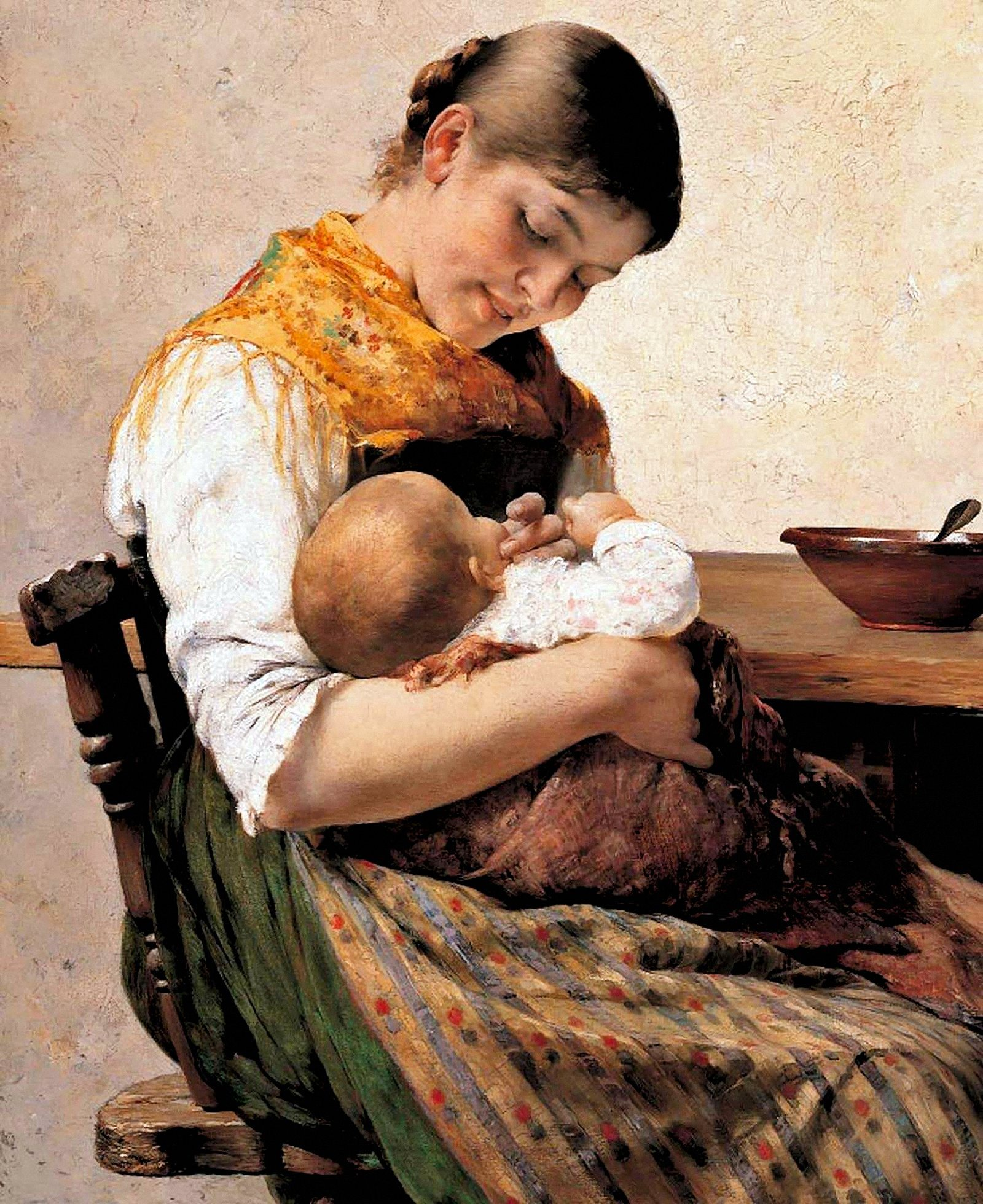 00 Georgios Iakovidis. Mother and Child