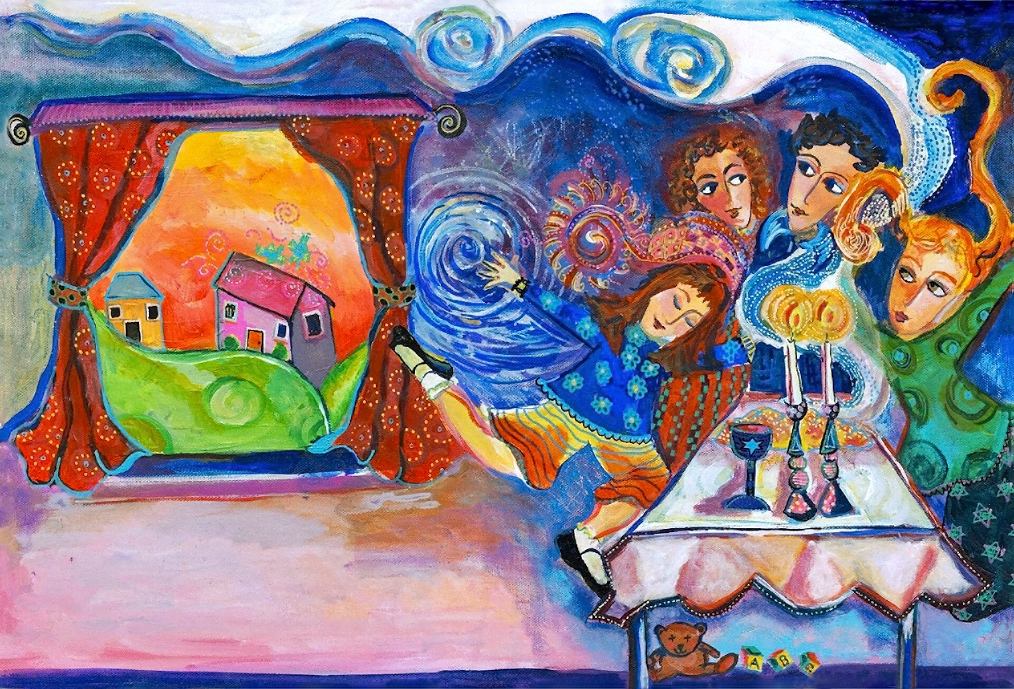 00 Joani Rothenberg. Shabat Shalom.